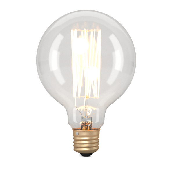 G95 Medium Globe Squirrel Cage Filament Vintage Light Bulb (E27 FITTING)