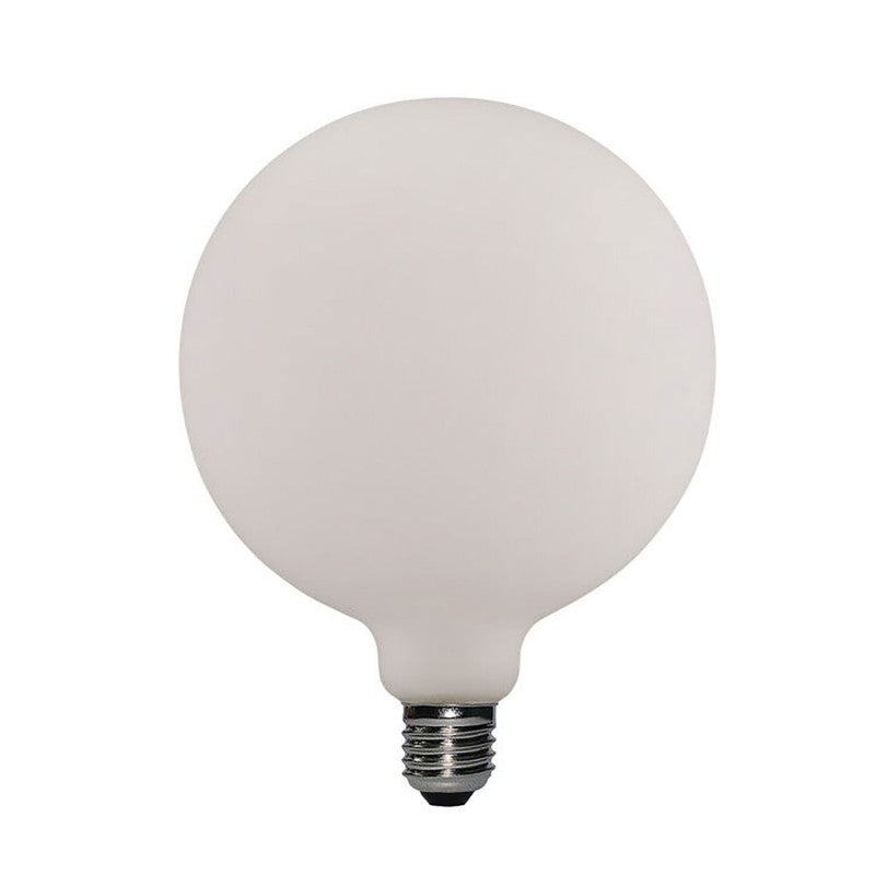 Extra Large Globe Led Porcelain Light Bulb G155 6W E27 Dimmable 2700K