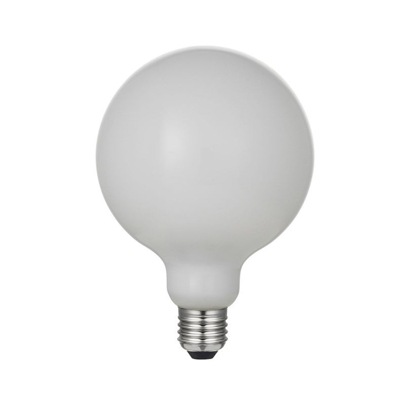 Large Globe Led Porcelain Light Bulb G125 6W E27 Dimmable 2700K