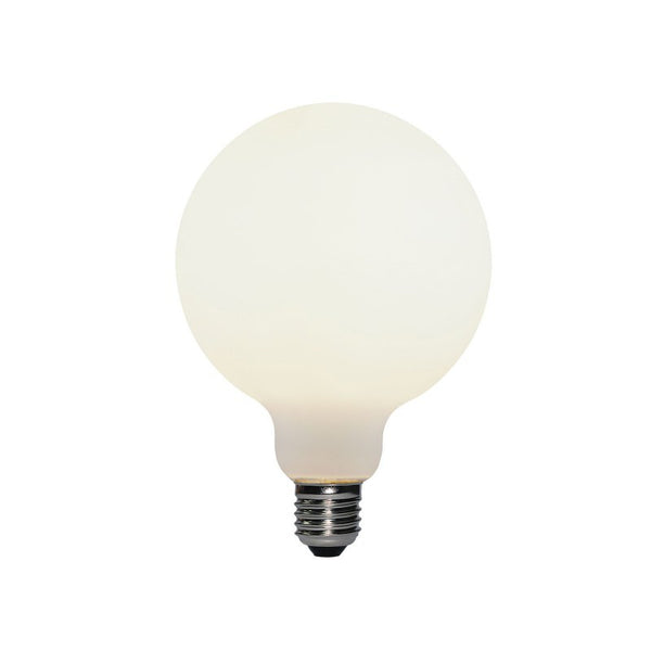 Medium Globe Led Porcelain Light Bulb G95 6W E27 Dimmable 2700K