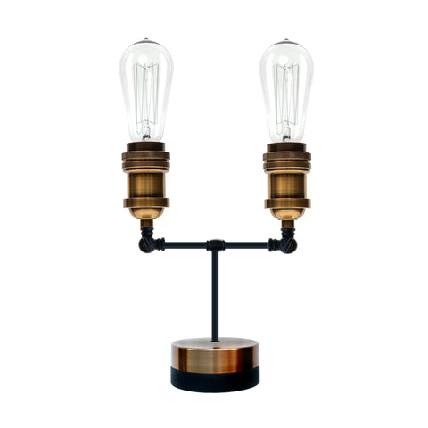 Pype Double Head Table Lamp