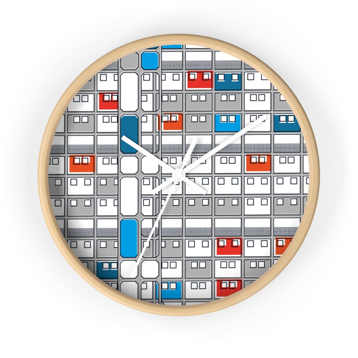 23 de Enero Superblocks - Wall Clock