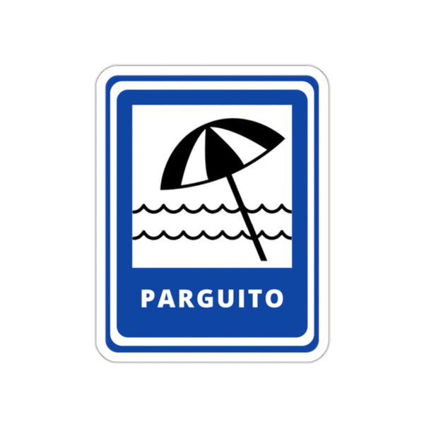 Playas - Parguito Stickers