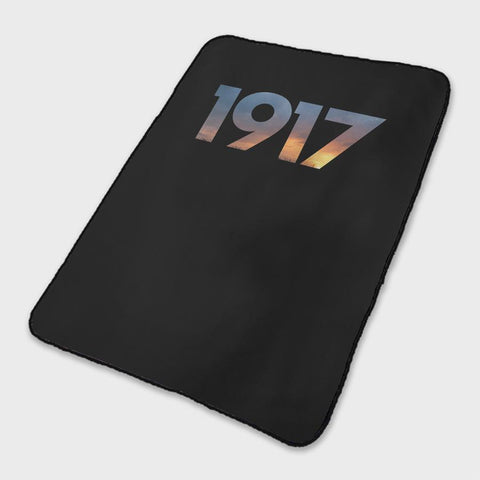 1917 Movie Logo Fleece Blanket