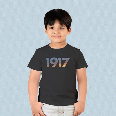 Kids T-shirt - 1917 Movie Logo