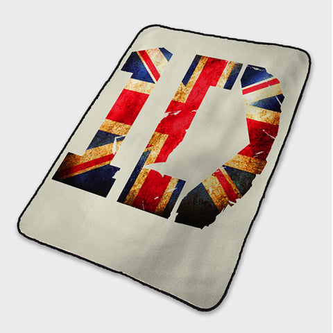 1D Logo One Direction Fleece Blanket