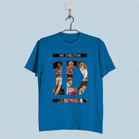 Men T-Shirt - 1D One Direction Collage