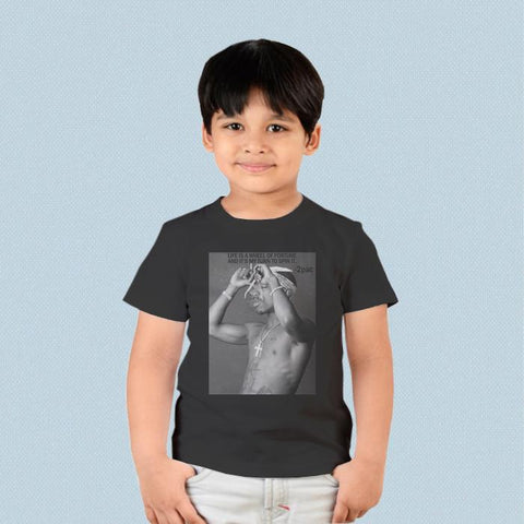 Kids T-shirt - 2PAC Rap Hip Hop