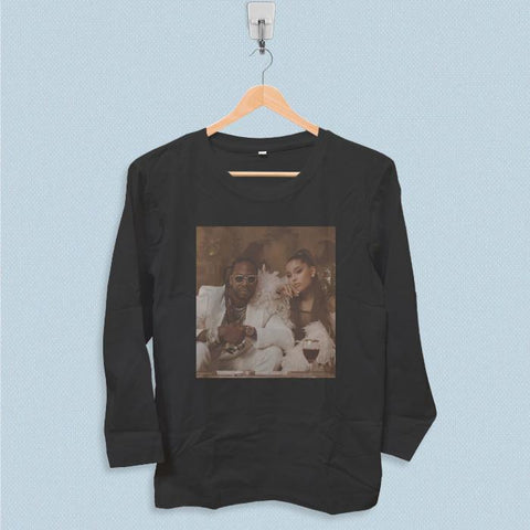 Long Sleeve T-shirt - 2 Chainz Rule The World ft Ariana Grande