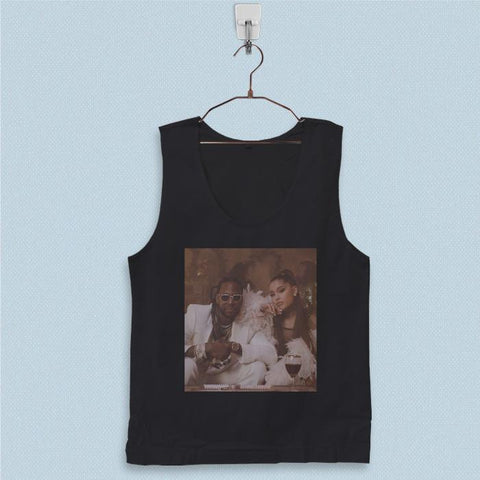Men's Basic Tank Top - 2 Chainz Rule The World ft Ariana Grande