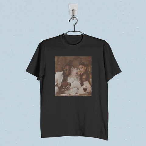 Men T-Shirt - 2 Chainz Rule The World ft Ariana Grande