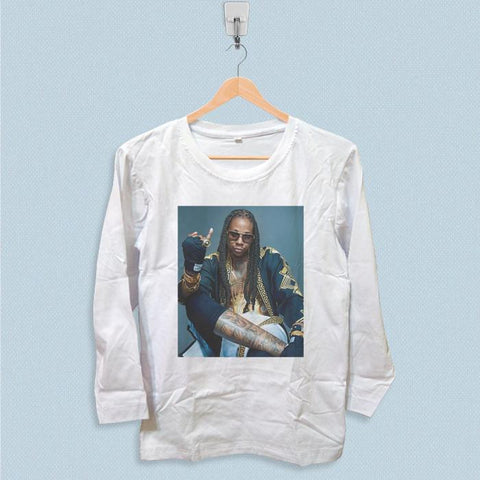 Long Sleeve T-shirt - 2 Chainz Style
