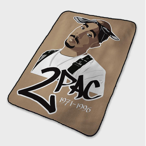 2pac tupac Poster Fleece Blanket