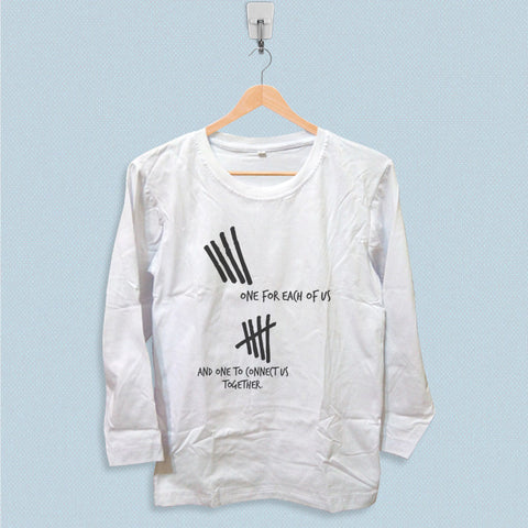Long Sleeve T-shirt - 5SOS One for Each of Us