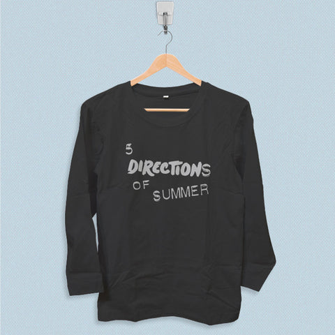 Long Sleeve T-shirt - 5 Directions of Summer