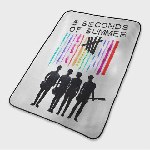 5 Seconds Of Summer 5SOS Band Fleece Blanket