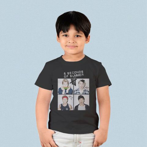 Kids T-shirt - 5 Seconds of Summer Band