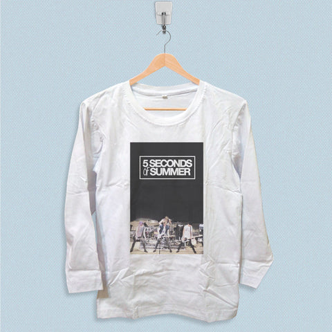 Long Sleeve T-shirt - 5 Seconds of Summer Band Tour