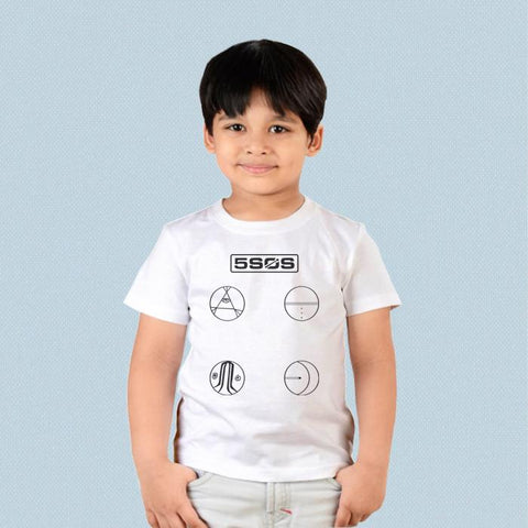 Kids T-shirt - 5 Seconds of Summer Easier Logo