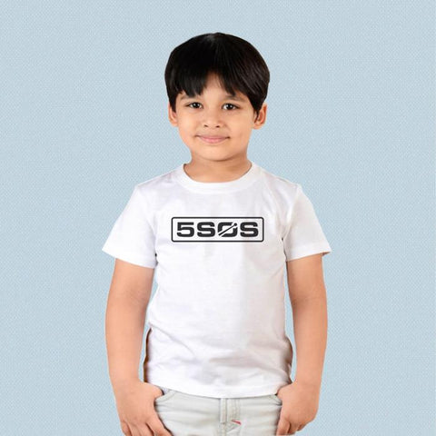 Kids T-shirt - 5 Seconds of Summer Logo 2019