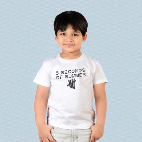Kids T-shirt - 5 Seconds of Summer Logo