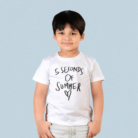 Kids T-shirt - 5 Seconds of Summer Love