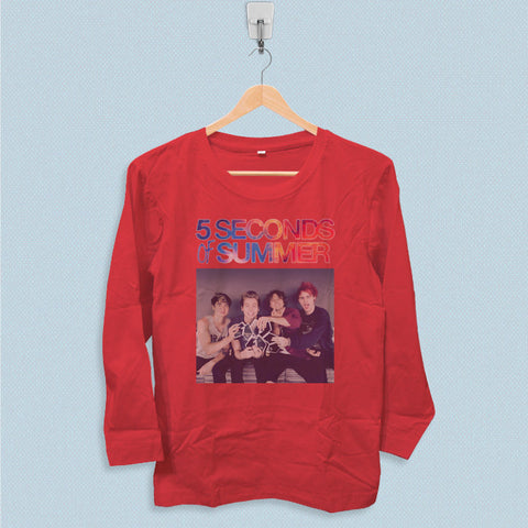 Long Sleeve T-shirt - 5 Seconds of Summer