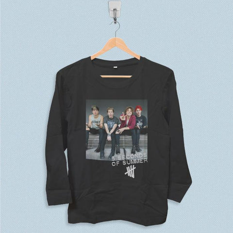 Long Sleeve T-shirt - 5 Seconds of Summer Tour 2017