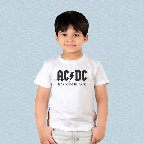 Kids T-shirt - AC DC Back in Black