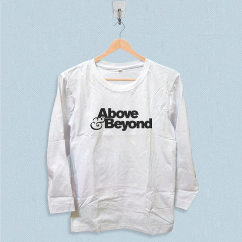 Long Sleeve T-shirt - Above and Beyond Logo