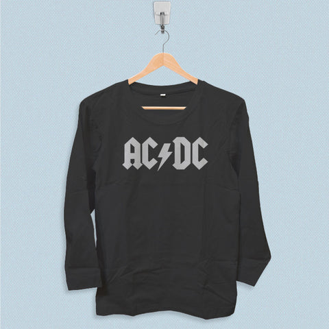 Long Sleeve T-shirt - Ac Dc Band Logo