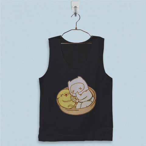 Men's Basic Tank Top - Adventure Time Baby Jake and Finn