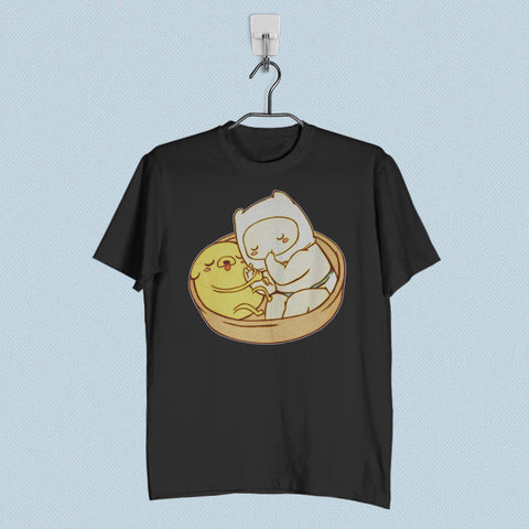Men T-Shirt - Adventure Time Baby Jake and Finn