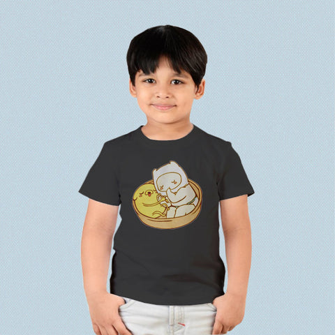 Kids T-shirt - Adventure Time Baby Jake and Finn