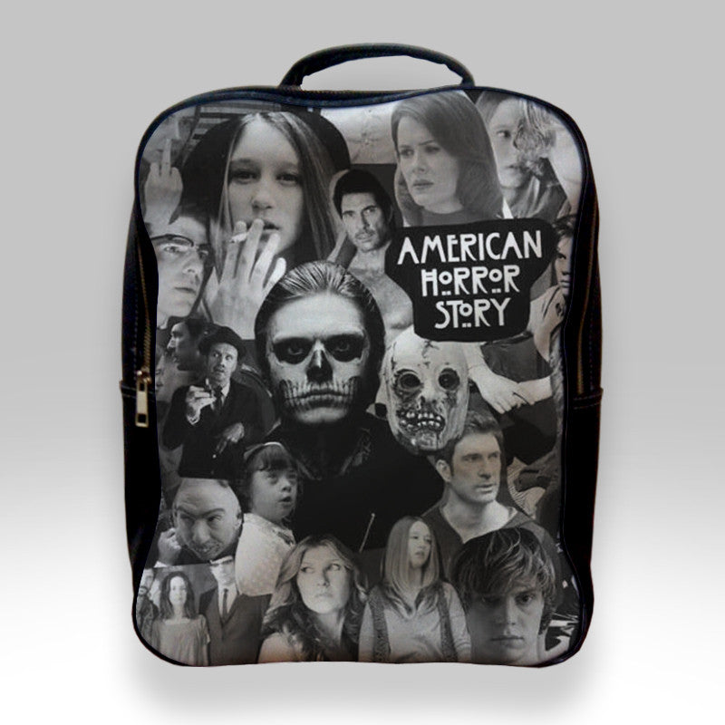 d8e27134cd5f Backpack for Student - American Horror Story Collage Bags – Teeshopee