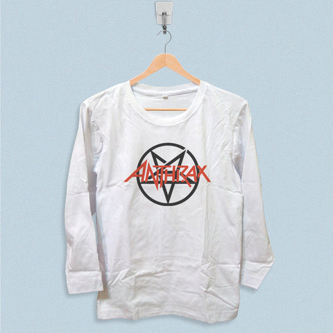 Long Sleeve T-shirt - Anthrax Logo