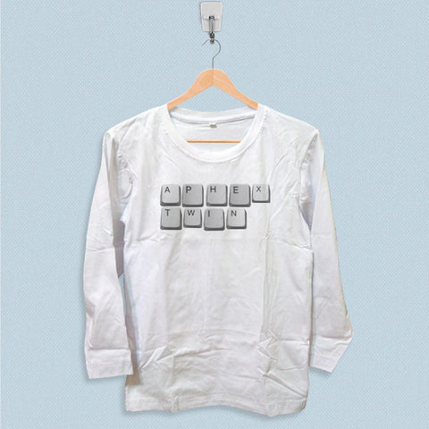 Long Sleeve T-shirt - Aphex Twin Letter