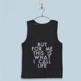 Men's Basic Tank Top - Bastille Lyric