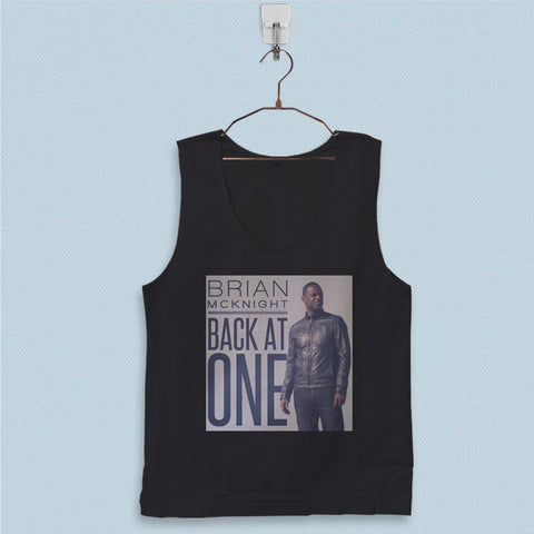 Men's Basic Tank Top - Brian McKnight Back at One