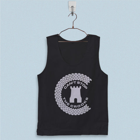 Men's Basic Tank Top - Cant Stop The Crooks