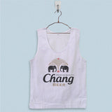 Men's Basic Tank Top - Chang Beer Logo