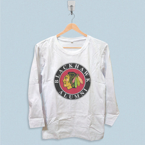 Long Sleeve T-shirt - Chicago Blackhawk Alumni