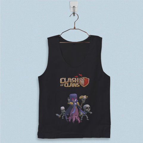 Men's Basic Tank Top - Clash of Clans Witch