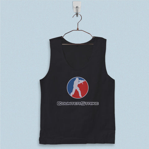 Men's Basic Tank Top - Counter Strike
