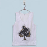 Men's Basic Tank Top - Crooks Castles Air Gun Spades