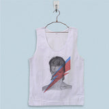 Men's Basic Tank Top - David Bowie