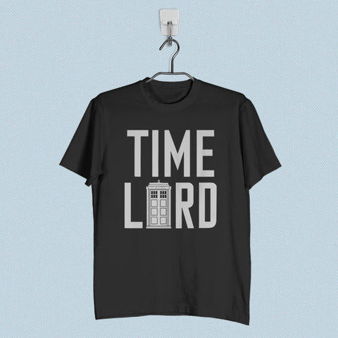 Men T-Shirt - Doctor Who Tardis Doctor Who Time Lord