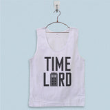 Men's Basic Tank Top - Doctor Who Tardis Doctor Who Time Lord