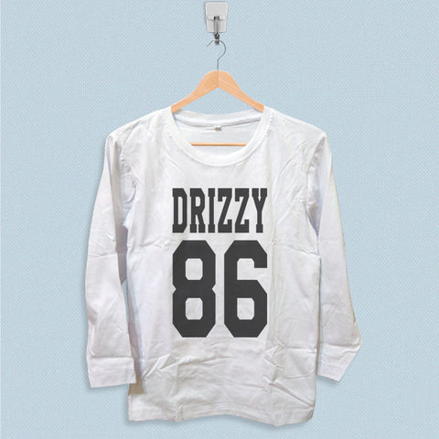 Long Sleeve T-shirt - Drizzy 86