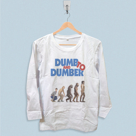 Long Sleeve T-shirt - Dumb and Dumber To